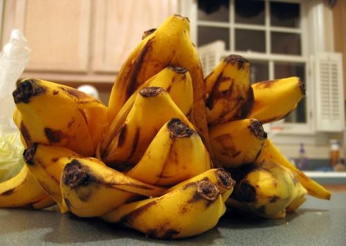 Банановые шкурки вместо удобрения