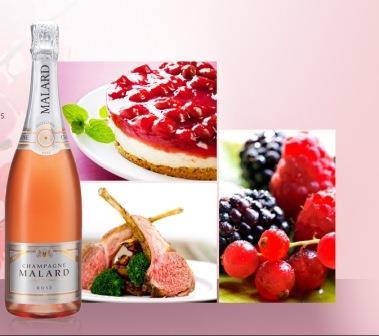 Шампанское из малины или ежевики