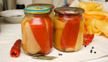 Перец сладкий в масле