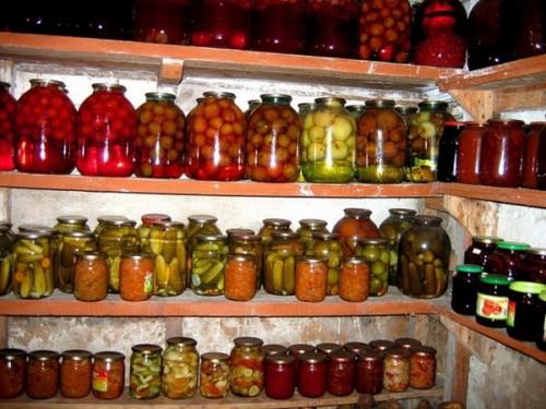 Помещения для хранения урожая