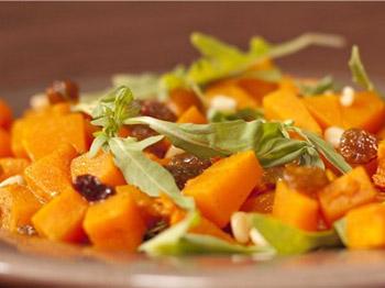 Салат из перца с тыквой «Деревенский»