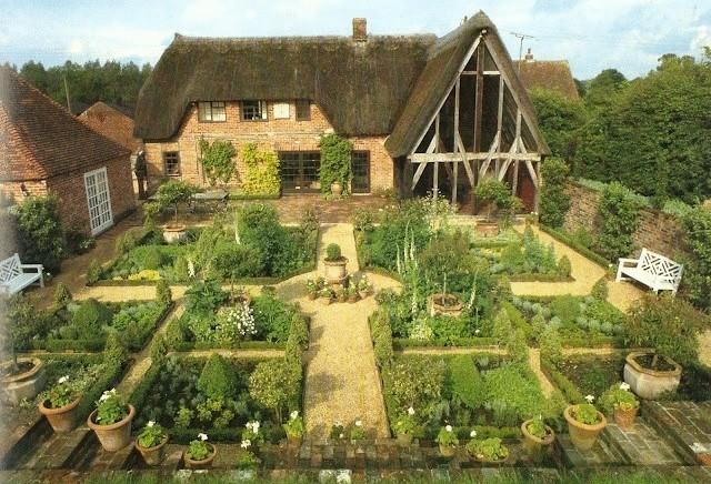 Английский «кухонный» садик
