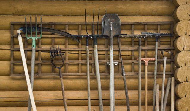 Кладовая для хранения инструмента