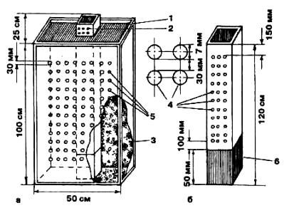 Конструкция рабатки-небоскреба