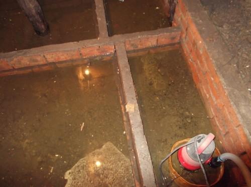 Погреб и Грунтовые воды