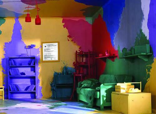 Краски для интерьера
