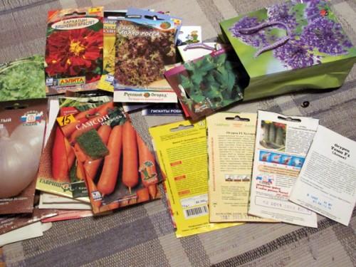 О чем говорят надписи на пакетиках с семенами?