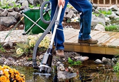 Очистка и фильтрация пруда